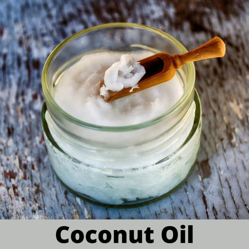 apply coconut oil to get rid of dandruff