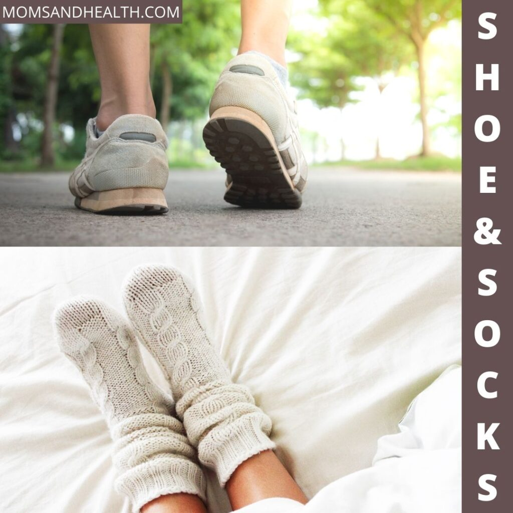Socks and Well-fitted Shoes
